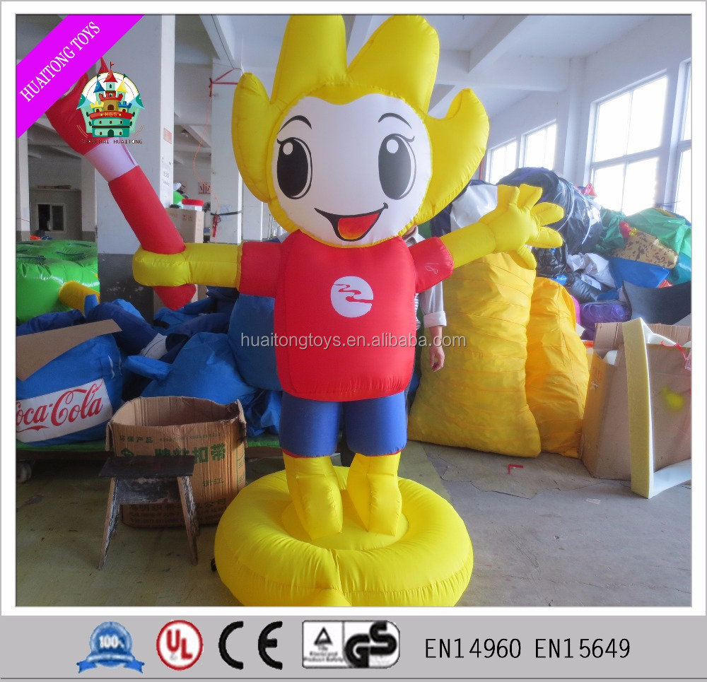Customized Giant Inflatable Cartoon Character outdoor Inflatable Advertisement for any product