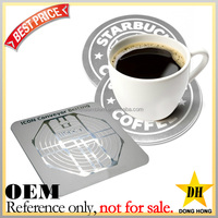 cheap gift custom cheap drink beer aluminum souvenir metal coasters