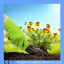 Hypoallergenic Antibacterial Water and Puncture Resistant Latex Coating Bamboo Gloves for Garden Work