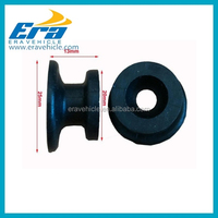 KR12 Plastic Pulley Guide Roller U Groove Wheel for trailer cover