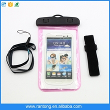 China manufacturer 6 inch waterproof mobile phone bag for nokia