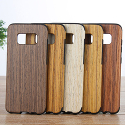 New Real Natural Wooden Wood Bamboo Phone Case For Galaxy S5 S6 S6 edge S7 S7 edge S8 S8 Plus