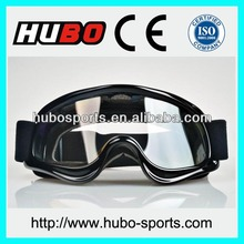 HUBO black motorcycle glasses motorbike riding custom goggles