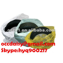 made in china PE disposable plastic car tyre/wheel cover/bag
