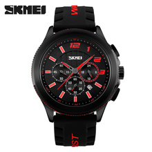 Hot Selling Sport Racing Elements Watch For Vogue Men Silicone Wrist 3ATM