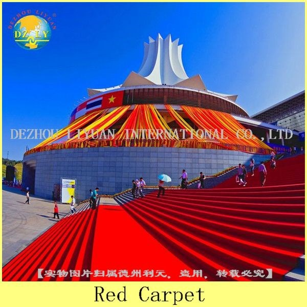 100%polyester exhibition carpet coating latex for hall/plain mat