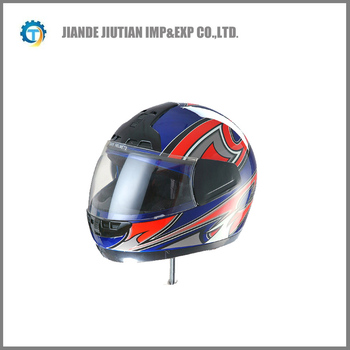 High quality with washable interior full face helmet motorcycle helmet WITH BLUE COLOR