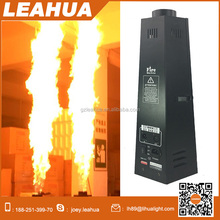 200w 3 meters high flame six corner dmx stage fire machine