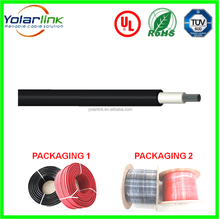 China supplier YOLARLINK solar wire dc solar cable solar electric cable pv system 600/1000V
