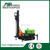 Bristol 180 m depth light weight flexible small water well drilling rig