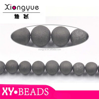 Pujiang Natural Agate Gemstones Semi Precious Stone 8mm , 10mm , 12mm stone beads