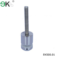 glass support hardware,stainless steel glass fittings,garden decortation glass standoff pins