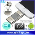 Zyiming Trade assurance factory top selling alibaba for apple iphone 6s/7 usb flash drive otg ,mobile phone 3.0 usb flash