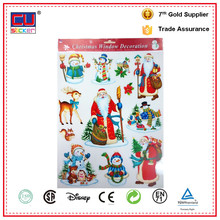 Christmas Wall Removable Decorative Window Cartoon Sticker
