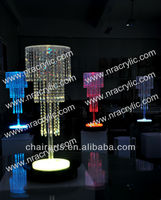 Shanghai LED wedding centerpieces crystal chandelier