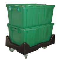 Heavy Duty 30kgs Moving Plastic Stacking Storage Bins