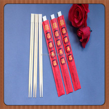 New Year wedding Printing Waribashi Red Bamboo Chopsticks