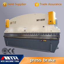 40t/2500mm CNC hydraulic press brake for sale/Manual bending machine