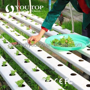 pvc hydroponics tower /Hydroponics Pipe/Hydroponic PVC Pipe with End Cap, Square Tube, Hydro Pipe