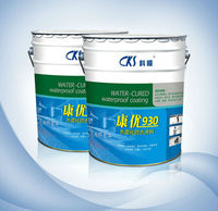 Spraying Application Polyurethane Waterproof Paint for swimming pool