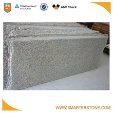 Giallo Fancy stone summer yellow granite small slab for exporting