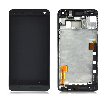 For HTC M7 mobile phone spare parts wholesale glass lcd touch screen display digitizer lens