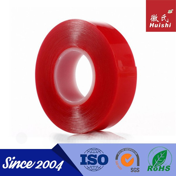 10mm X 50M Clear Strong Polyester Double Sided Self Sticking Tape