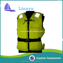 2015 Hot sale commercial reflective boating life jacket vest for adults sea work
