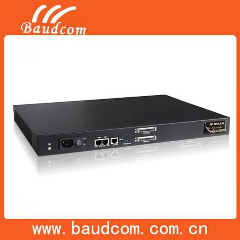 24 PORTS ADSL2+ IP DSLAM Ethernet Switch support Voip service