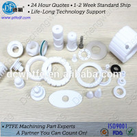 high quality customize ptfe gear teflon plastic gears ptfe parts with excellent performance
