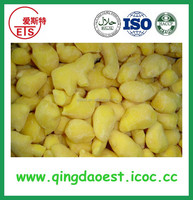 Rich protein Frozen ginger cubes in chinese factory can increasing immunity
