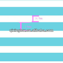 fabric cotton blue and white striped