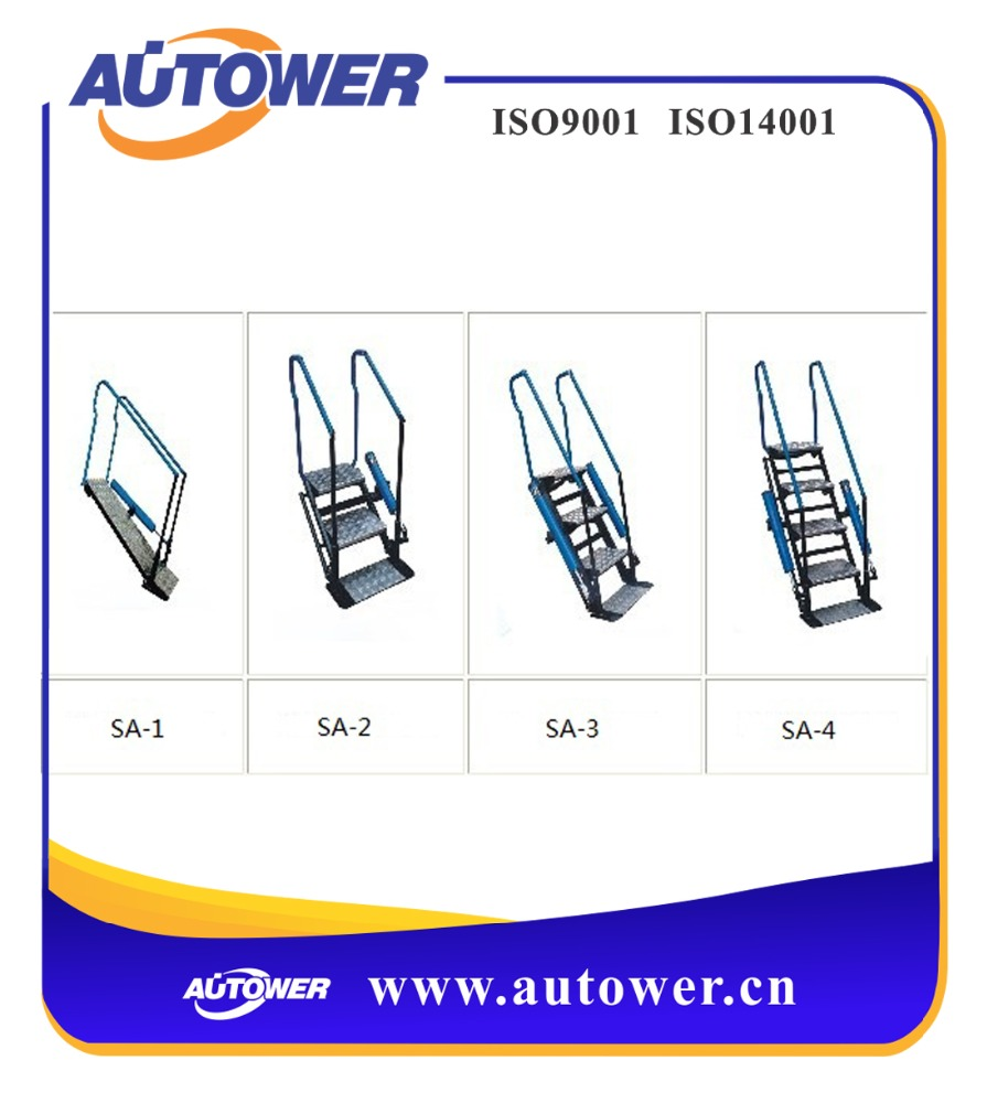 Catwalk ladder Industrial used at tank farm loading unloading platform easy operation, safety protection