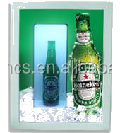 "Tonsincs Hot selling 20""Hollow LCD Screen Display with 3d panel interior 3d effect"