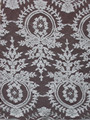 corded fashion lace fabric jacquard lace for garment decoration