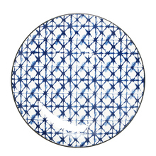 Wholesale cheap natural high quality round ceramic dinner plate set