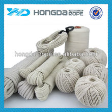 1mm --30 mm Multi- purpose braided cotton rope cotton twine