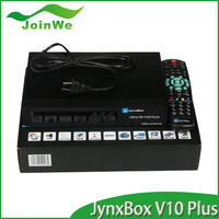 North America Jynxbox Ultra Hd Card Sharing Twin Tuner Satellite Receiver Support 1080p Wifi+twin Tuner+usb Pvr V10 Plus