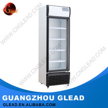 Single&double door refrigerator stand for display