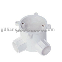 2 Way Deep Angle circle Box concealed plastic box