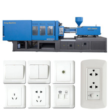 Automated Machine for Making Plastic Electric Switches / Socket
