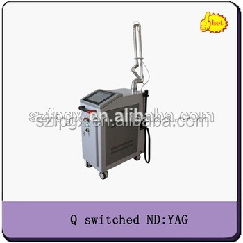 New q-switch nd yag laser long impulse medical tattoo rmeoval