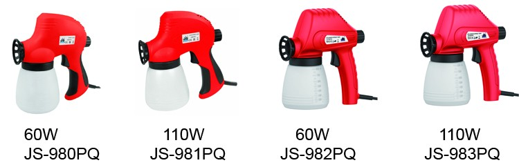 Manufactory for Household Wall Paint Electric Airless Paint Spray Gun (110W JS-981PQ) from Jinshun