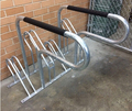 Flat pack compact cycle rack