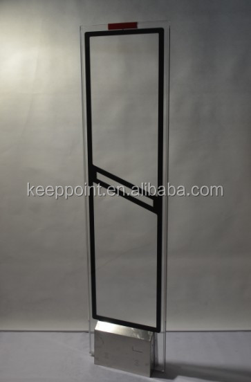 58khz Black Antenna AM Systems , Retail Stores Anti-theft Door System