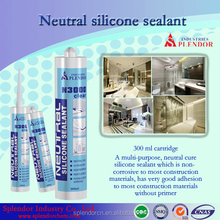 Clear Brown Black White Grey Neutral Silicone Sealant