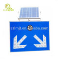 Direct manufacture solar road dividing sign LED traffic warning light