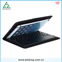 Universal Leather Case Bluetooth Wireless Keyboard for 10inch Tablet PC