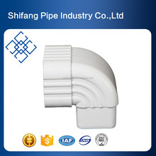 hot sale cheap building materials roof gutter system pvc roof drain downspout accessories