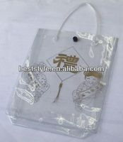 High quality hdpe die cut handle bags